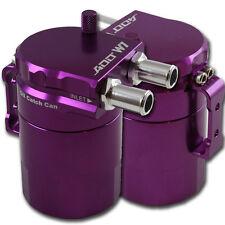 ADD W1 Purple Baffled Universal Aluminum Oil Catch Can Reservoir Tank Ver.1