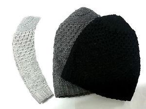 Mens High Quality Thick Turkish Knitted Skull Cap Kufi Prayer Beanie Topi Hat