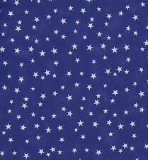 QUILT FABRIC: 100% COTTON TONAL, LUCKY STARS, PURPLE & WHITE, LS-06, By The Yard