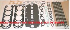 ROVER  25 45 75 200 400 1.4 1.6 1.8 16V UPRATED HEAD GASKET SET & HEAD  BOLTS
