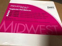 Midwest RDH Hygiene Prophy Dental Handpiece 3 pack , new 740010