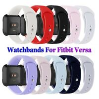 Replacement Watchband Silicone Band Wristbands Bracelet Strap For Fitbit Versa