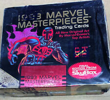 Skybox 1993 Marvel Masterpiece factory sealed box comic cards