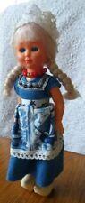 Agro Vintage Dutch Holland Doll 1960s 8 inch