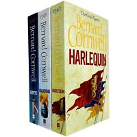 Grail Quest Trilogy Series 3 Books Adult Pack Set Paperback By Bernard Cornwell