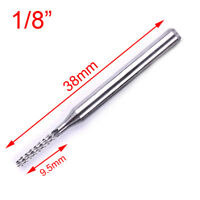 1/8'' Shank 1.5mm Bit CNC PCB Router Engraving Micro Drill End Milling Cutter