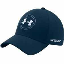 5ef632af255 Under Armour 1295728 Mens Sz L XL Jordan Spieth Navy Blue Tour Golf Cap Hat