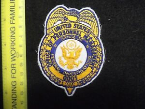 Federal defunct vintage Office of Personnel Management OPM Investigator Police