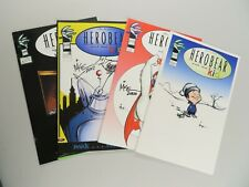HEROBEAR and the KID 4 Issue Lot #'s 1-4 Astonish Comics Issues 2-3 are signed!
