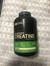 Optimum Nutrition Micronized Creatine Monohydrate Powder - 600g 120 Servings