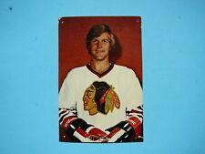 1976/77 NHL HOCKEY PHOTO / POSTCARD BOBBY ORR CHICAGO BLACK HAWKS WITH STATS