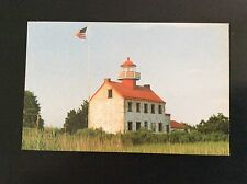 East Point Lighthouse, East Point, New Jersey Postcard 1980's #1 in Series