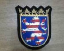 Medieval German Royal Dynasty Kingdom Empire Hre Hrh Hesse Heraldry Arms Patch