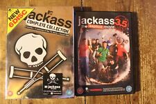 JACKASS COMPLETE COLLECTION AND 3.5 MOVIE DVD ALL MOVIES ALL VOLUMES SPECIAL FEA