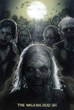 "The Walking Dead 1 2 3 4  TV Zombie Poster 20"" x 13"" Decor 23"