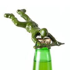 180 Degrees Army Man Bottle Opener Bar Tool Die Cast Metal Unique Beer Barware