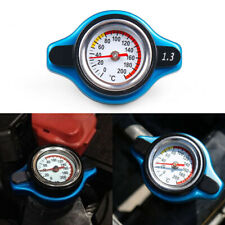 For Racing Thermostatic Gauge Radiator Cap 1.3 bar Small Head Water Temp Meter
