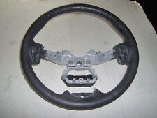 2012 FORD EDGE LEATHER STEERING WHEEL GRAY LEATHER USED FEW SCRATCHES