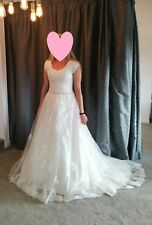 Maggie Sottero 'Shannon' Wedding Dress, size 12-14, Ivory, 2016 Collection