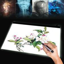 A2 LED Drawing Board Tracing Light Box Art Stencil UltraThin Lightbox Pad Box