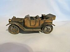 Vintage Solid Brass 1913 Chevrolet Auto with Cigarette Lighter
