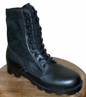 Rothco G.I. Style Jungle Boots Black | Panama Sole |  Model# 5081