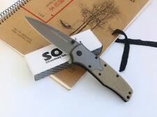EDC Assisted Opening Folding Pocket Knife Camping Hunting Survival Saber Gift
