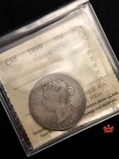 1899 Canada 50 Cents Key Date - ICCS VG10 - Old Certificat VJ 938