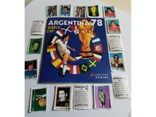 Album panini ARGENTINA 78 + all complete set stickers with back numbered Replica