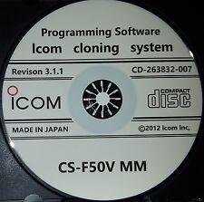 Icom CS-F50V MM Programming Software for IC-F60V/IC-F51V/IC-F61V