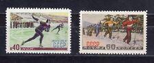 Russia 1952 Sc.1617-8 Zag 1584-5 (2) Winter Sports    MNHOG CV $10.50