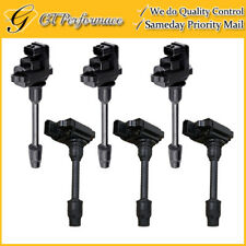 OEM Quality Ignition Coil 6PCS Pack for 1995-1999 Infiniti I30/ Maxima 3.0L V6