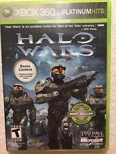 BRAND NEW SEALED Halo Wars - Xbox 360 Platinum Hits PLAYS ON XBOX ONE XBOX LIVE