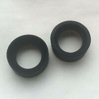 2pcs Rubber Eyepiece Eye Shield Guards Cups for Microscope Telescope Camera Lens