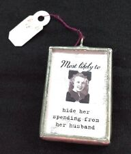 NWT SILVER  PHOTO CHARM PENDANT WHIMSICAL VINTAGE CLASS PHOTO STYLE RET. $16.99