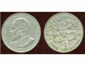 KENYA  1 shilling 1966  ( etat )