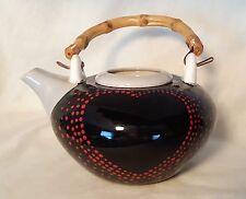 Self Watering Ceramic African Violet Flower Tea Pot/Planter - 2 Piece