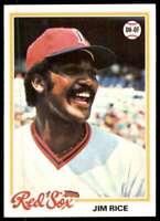 1978 Topps (Njs2) Jim Rice Boston Red Sox #670