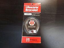 Medical ID Stainless Steel Bracelet For Diabetics Diabetic Diabetes Supplies