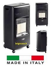 Stufa Infrarossi a Gas GPL bombola + Ventilata con Termoventilatore Bartolini