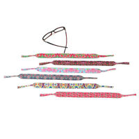STRAPS FOR SUNGLASSES INSPIRED BY LILY PULITZER PRINTS(Set of 6)