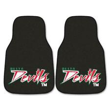 """Fan Mats Mississippi Valley State 2-pc Carpeted Car Mats 17""""x27"""" 5276"""