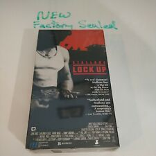 Lock Up (VHS, 1989)(first press brand new)
