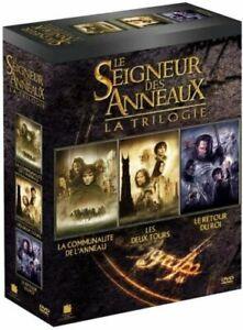 Seigneur des Anneaux - Trilogie - DVD - Neuf sous blister -
