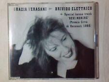 GRAZIA VERASANI Brivido elettrico cd singolo PR0M0 COME NUOVO LIKE NEW!!!