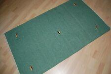 TOP Design Kelim Teppich Wolle handgewebt grün 150x90 1-593 handmade kilim rug