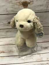 Vintage Gerber Precious Plush Cream Brown Puppy Dog Plush Stuffed Animal Korea