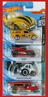 Hot Wheels 2020 4 Stück  VW BEETLE, RIP ROD, VW BAJA BUG, ROAD BANDIT NEU&OVP