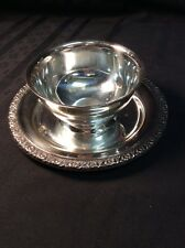 Silver Plated Small Round Serving Bowl