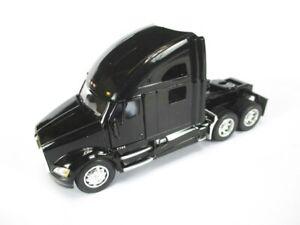 Kenworth T 700 Tractor Truck Model Car 1:68 Diecast Kinsmart, New, Black